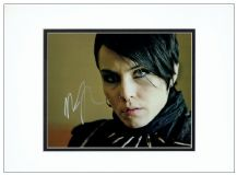 Noomi Rapace Autograph Signed Photo - Girl With The Dragon Tattoo